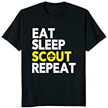Eat Sleep Scout Repeat | Scouting Camping Outdoors | Shirt