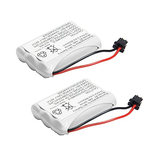 2pcs BT-446 Cordless Phone Rechargeable Battery for Uniden Cordless Phone BT446 BP-446 BP446 BT-1005 BT1005 TRU8885, TRU8885-2, TRU88852, TRU8888, TRU9460, TRU9465, TRU9480, TCX-800 3815 Cordless Phone Battery