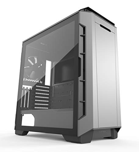 Phanteks Eclipse P600S Hybrid Silent and Performance ATX Chassis -Tempered Glass, Fabric Filter, Dual System Support, PWM hub, Sound dampening Panels, Anthracite - Cooling External Kit Water