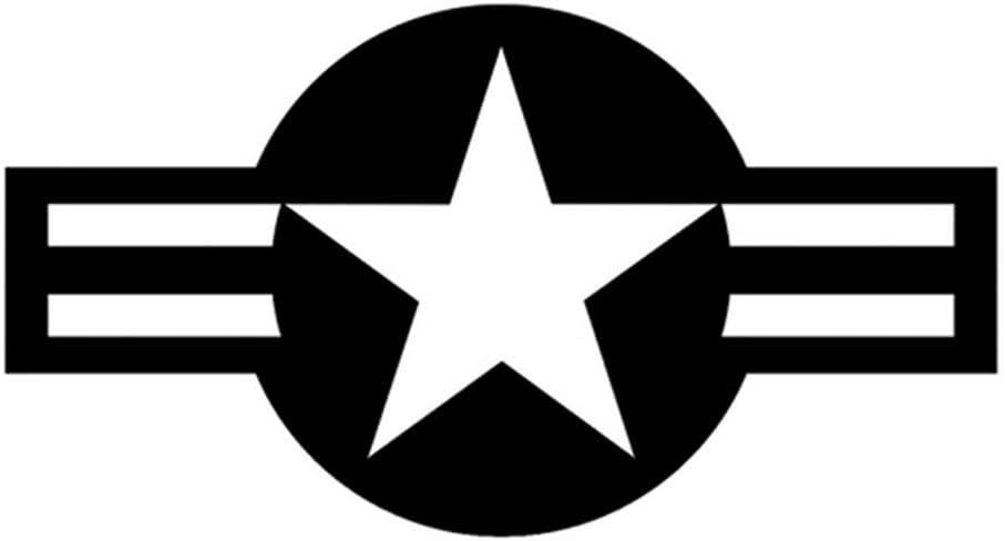 7 cm Adesivo per auto Jdm styling paraurti decalcomania camion decalcomanie moto USAF circolare emblema bandiera 13