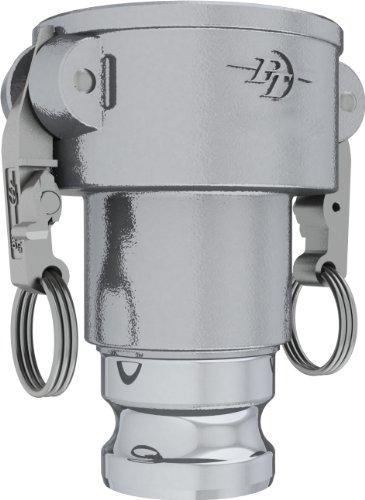 PT Coupling CXA Long STA-Lok 2 Series Aluminum Cam and Groove Hose Fitting, Reducer, 4