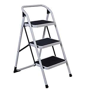 Amazon Com Alightup Foldable Three Step Ladder Portable