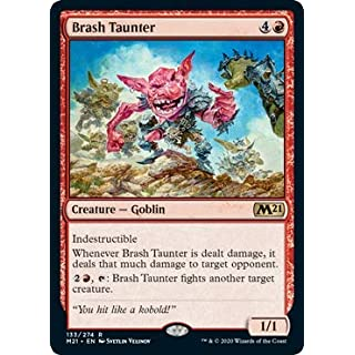 Magic: The Gathering - Brash Taunter - Core Set 2021