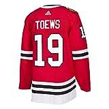 Jonathan Toews Chicago Blackhawks Adidas NHL Men's Authentic Red Hockey Jersey