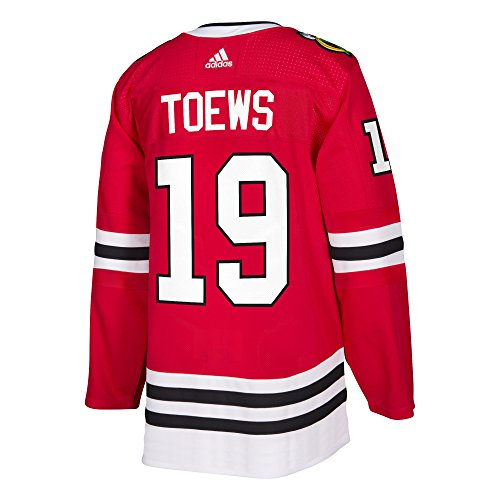 Jonathan Toews Chicago Blackhawks Adidas NHL Men's Authentic Red Hockey Jersey