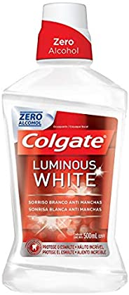 Enxaguante Bucal Colgate Luminous White 500ml