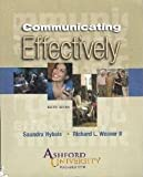img - for Communicating Effectively, 8th Edition, Ashford University book / textbook / text book