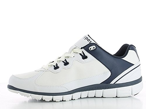 Oxypas Henny, Men's Safety Shoes, White (Nav), 6.5 UK (40 EU)