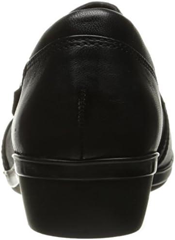 Narrow 458649 Clarks Womens Everlay Coda Black Casual Flats Size 10