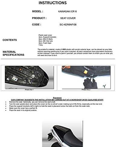 Seat Cowl for Kawasaki ER6-n//ER-6f 09-11