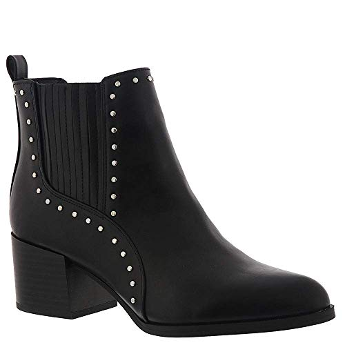 Circus by Sam Edelman Women's Jenna Fashion Boot, Black Waxy, Size 9.0 ()
