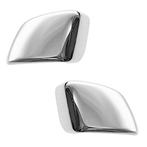 Chrome Tow Mirror Cap Cover Upgrade Left and Right Pair Set for Nissan Titan ()