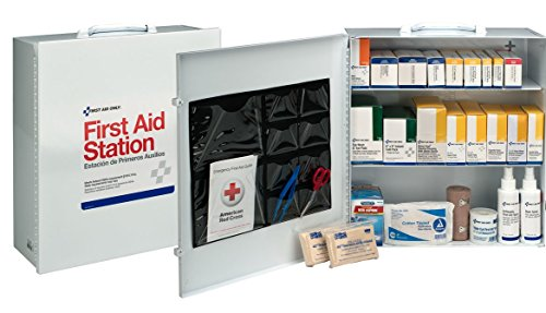 First Aid Only 100 Person 3 Shelf First Aid Steel Cabinet by Pac-Kit