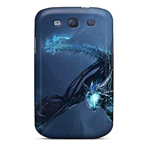 Protection Cases For Galaxy S3 / Cases Covers For Galaxy(world Of Warcraft Dragon)