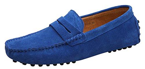 CFP ,  Herren Mokassinstiefel Blau