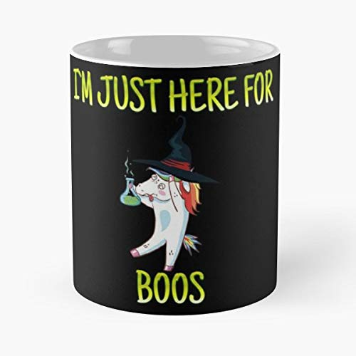 Happy Halloween Custome Here For The Boos Drink Wine Funny Christmas Day Mug Gifts Ideas For Mom - Great Ceramic Coffee Tea -
