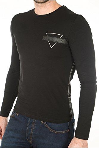 Guess Herren T-Shirt schwarz schwarz