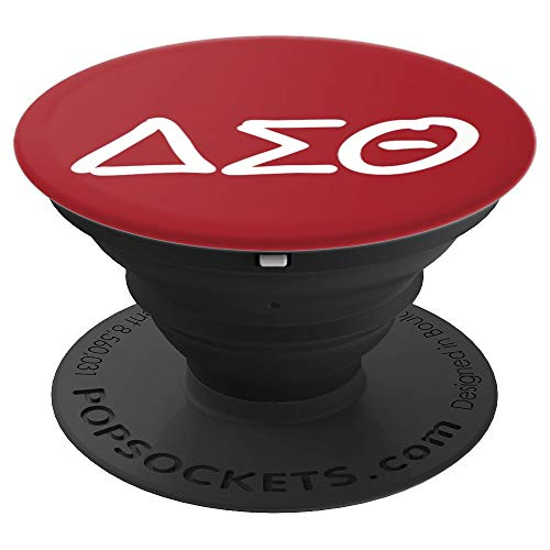Delta Sigma Womens Theta Sorority Gift for Sorority Diva - PopSockets Grip and Stand for Phones and Tablets