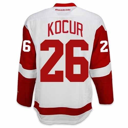 d63f07dbe Joey Kocur Detroit Red Wings Reebok Premier Away Jersey NHL Replica 30%OFF