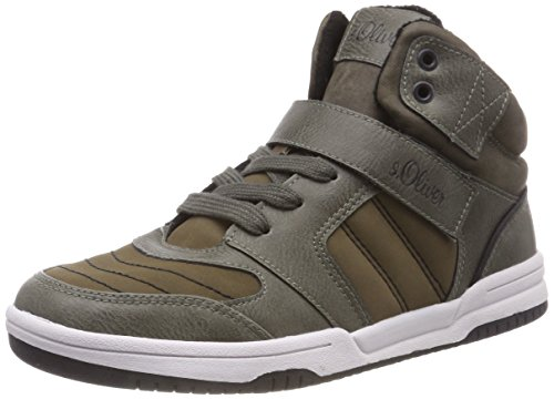 Trainers s Hi Top 21 Green Oliver Boys' Khaki 45100 701 YFqwRYv