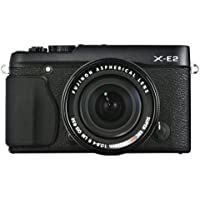 Fujifilm X-E2 Mirrorless Digital Camera with 18-55mm Lens (Black) - International Version (No Warranty)