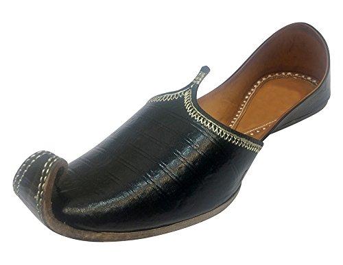 Stap N Stijl Heren Juttis Rajasthani Mojadi Kolhapuri Schoenen Trouwschoenen Formele Juti