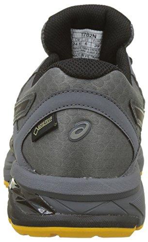 Asics Gt-1000 6 G-TX, Scarpe da Running Uomo Grigio (Carbonblackgold Fusion 9790)