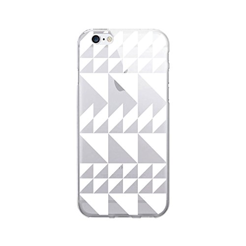 OTM Essentials Triangle Quilt, iPhone 6/6s Clear Phone Case