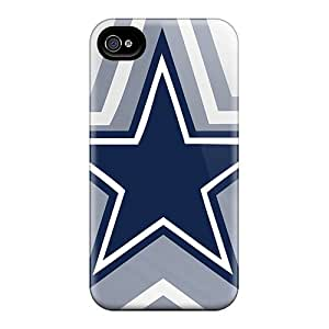 Shock-Absorbing Hard Phone Covers For Iphone 6 (UzK7088ukPX) Provide Private Custom Attractive Dallas Cowboys Skin