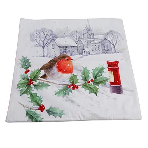 Amazon.com: Halloween Christmas Cushion Cover Throw Pillows ...
