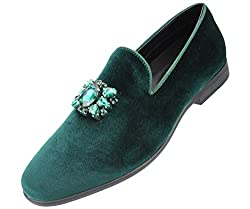 Jeweled Bit and Matching Piping Dress Shoe