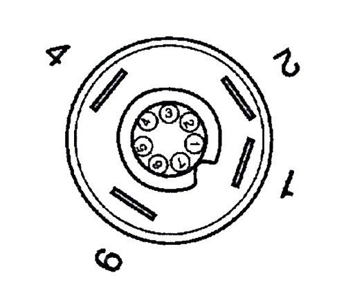 WAMO Druckschalter Arbeitsscheinwerfer 12V Kontrolle