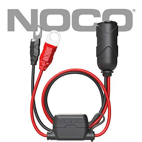 NOCO GC018 12V Adapter Plug Socket with Eyelet Terminal - Socket Connector Fuse