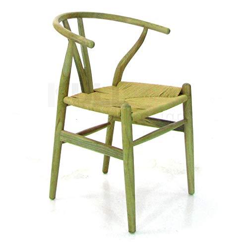 Kulldesign.com Silla Wishbone Style en Madera de Olmo ...