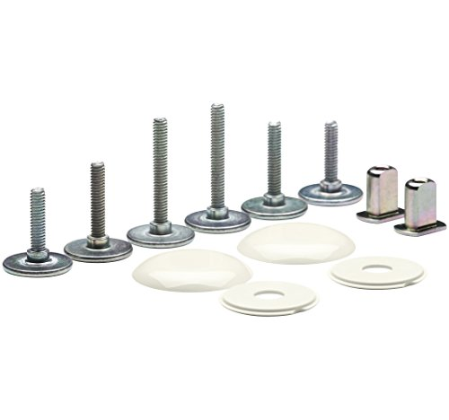 Kohler 5420-96 Clean Low Profile Toilet Bowl Caps, Biscuit