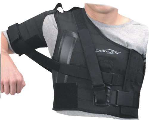 Donjoy Shoulder Stabilizer, Left Shoulder, X-Large