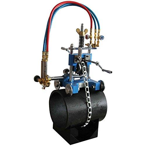 - TECHTONGDA CG2-11Y Manual Pipe Cutter Gas Cutting Machine Manual Pipe Torch Beveling Machine