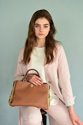 gFT4wHLdxB Size LQ Strap Women Leather Cow HM1EV01TA One for Bag Hobo with Shoulder EVIAN Monogram Shoulder QUATORZE with TxxdSqU