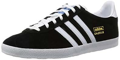 adidas Gazelle Og, Zapatillas Hombre, Negro (Black /White/Metallic Gold 1), 402/3