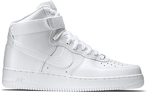 NIKE Mens Air Force 1 High 07 Basketball Shoes White/White 315121-115 Size 11