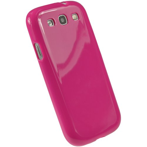 igadgitz-hot-pink-glossy-durable-crystal-gel-skin-tpu-case-cover-for-samsung-galaxy-s3-iii-i9300-and