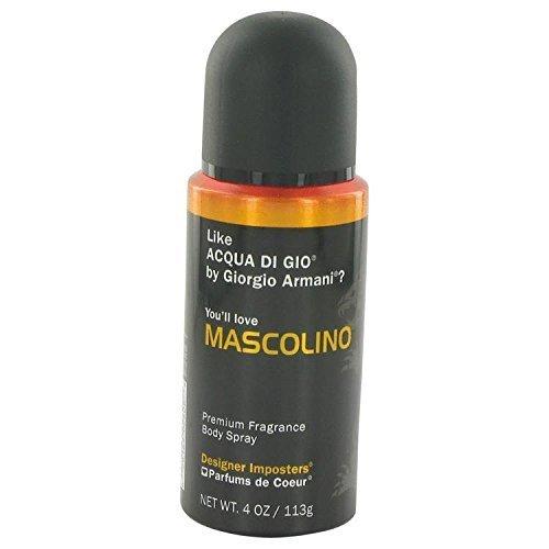 Designer Imposters Mascolino by Parfums De Coeur Body Spray