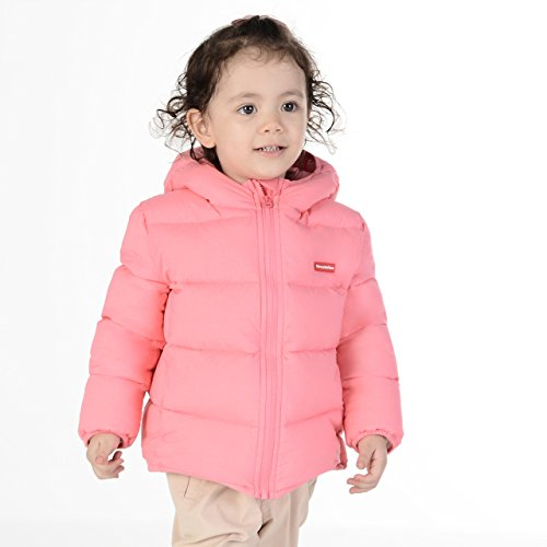 Nanny McPhee Kids Down Coat Unisex Baby Hooded Lightweight Down Puffer Jacket Outwear (More Styles Available) by Nanny McPhee (Image #1)
