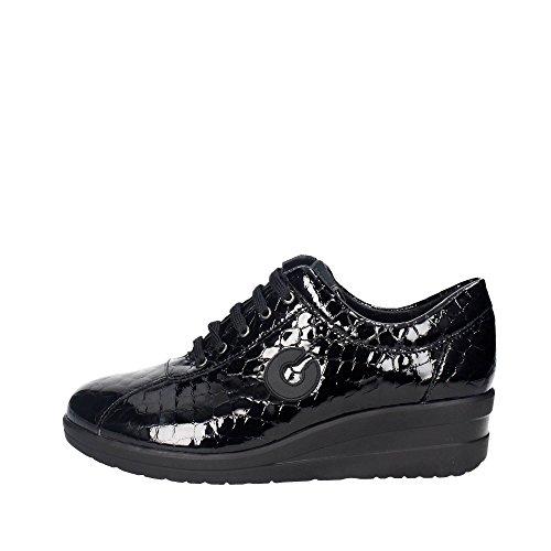 Cinzia Soft IV5595-BGP 001 Niedrige Sneakers Damen Schwarz