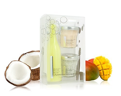 Exotic Bath & Body Gift Set Trio Cocoon. Made in France