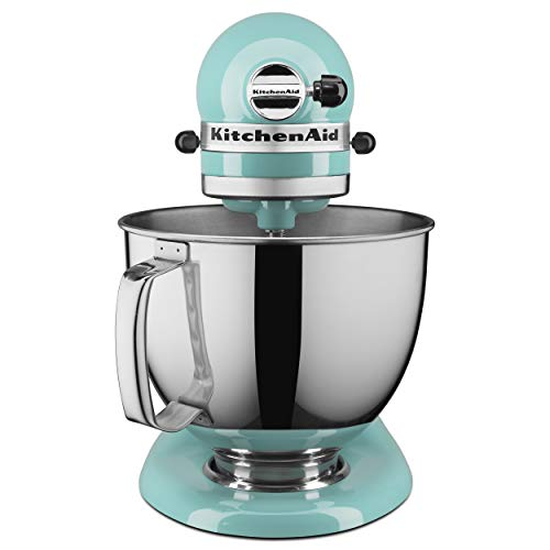 KitchenAid KSM150PSAQ Artisan Series 5-Qt. Stand Mixer with Pouring Shield - Aqua Sky - http://coolthings.us