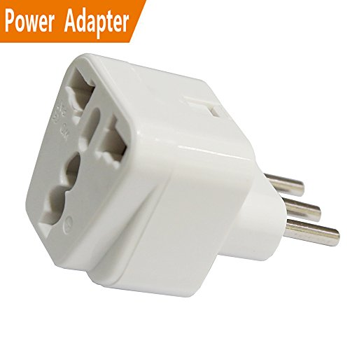 Price comparison product image USA to Italy Power Adapter Universal Travel Plug Compatible in Italy Chile Ethiopia Lybia Syria Tunisia Uruguay Etc