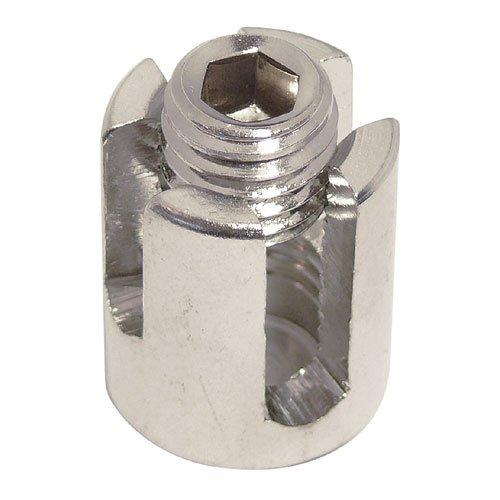 Serre c/âble en croisillons inox 3mm AISI 316