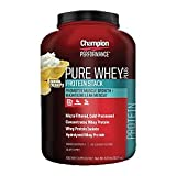 Champion Performance - Pure Whey Plus Protein Stack - Banana Cream Pie - Whey Protein Isolate Powder Sports Supplement, Promotes Muscle Growth and Maintains Lean Muscle - 4.8 lbs.