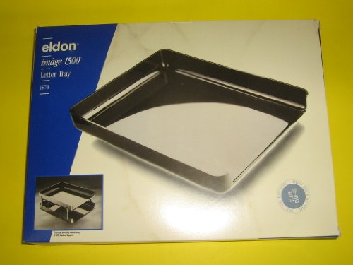 Eldon Image 1500 Series Stacking Desk Tray 1570-45 Slate (Image Series Desk Trays)
